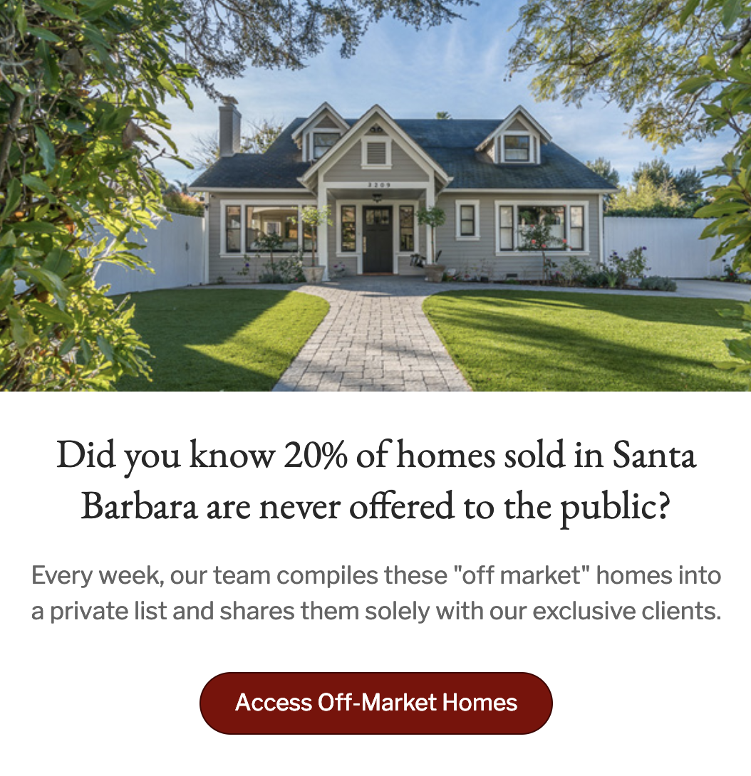 Access Off-Market Homes