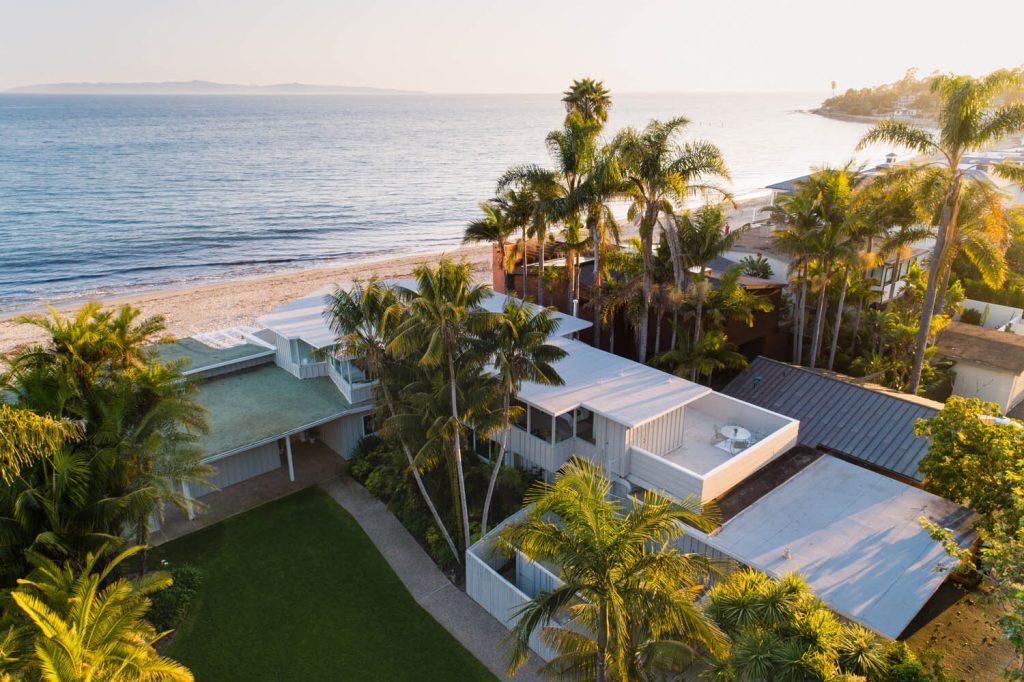 Beachfont homes in Montecito