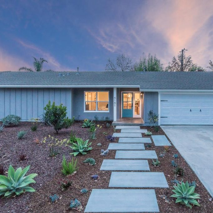6181 Fremont Dr Twilight Front 1