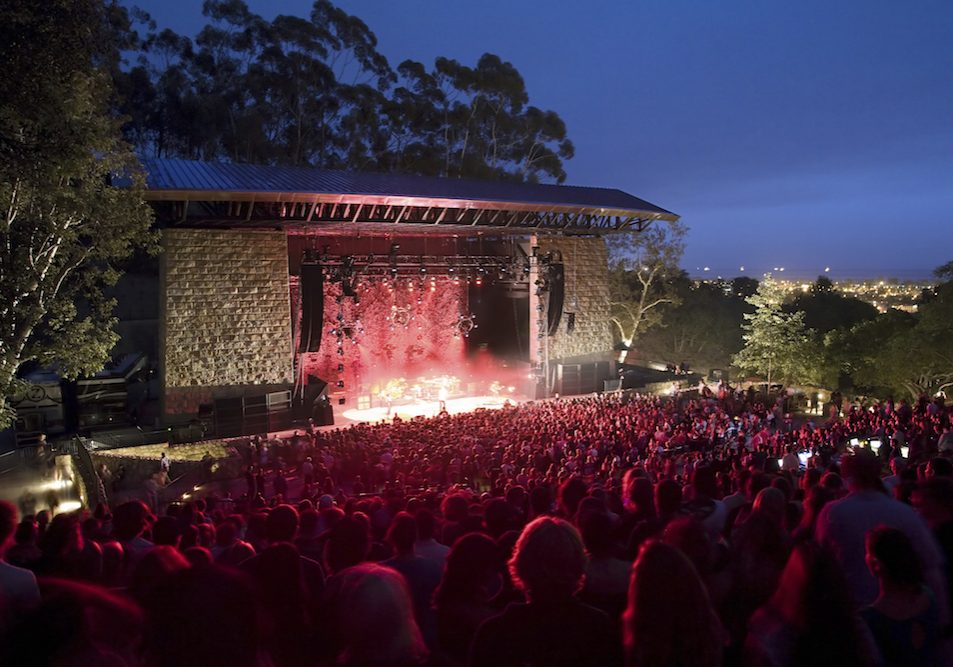 The Santa Barbara Bowl was built as a Works Progress Administration project in 1936. It recently underwent a $22 million renovation to accomodate big-name acts.